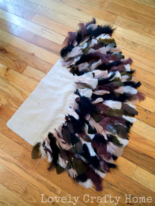 diy feather owl wing costume