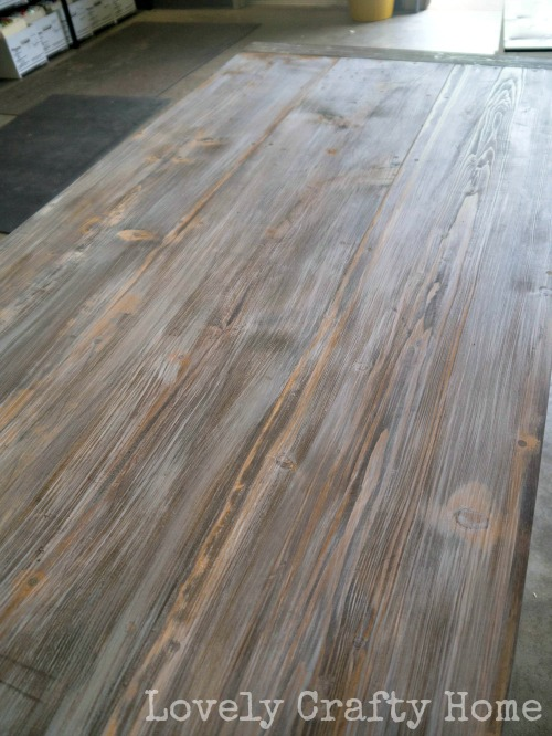 weathered table top tutorial
