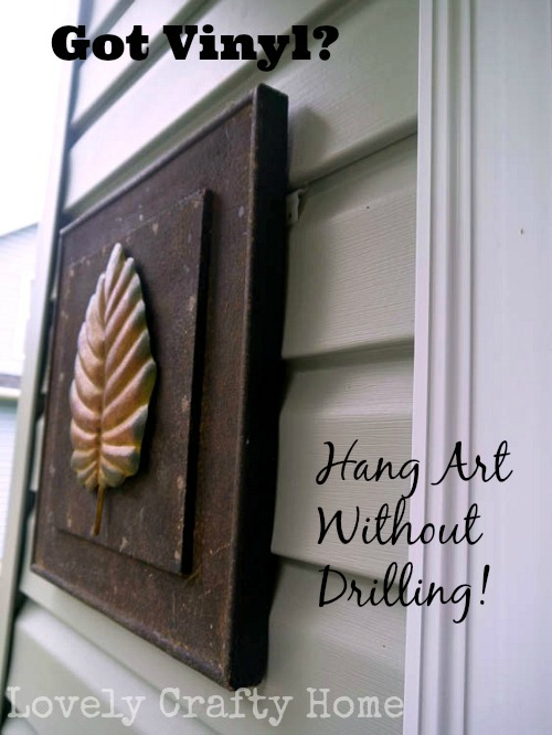 How To Use Vunyl Siding Clips To Hang Art