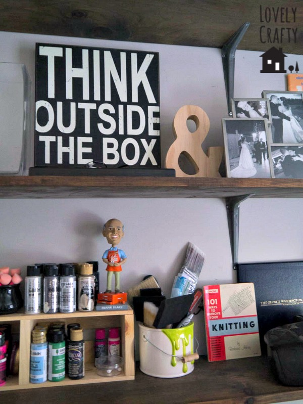 Craft Room and Office Organization