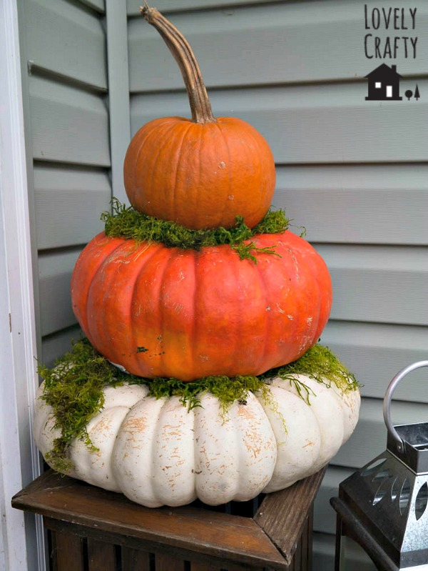 Fall Porch Topiary