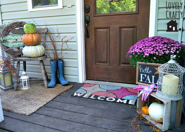 Fall Front Porch 2015