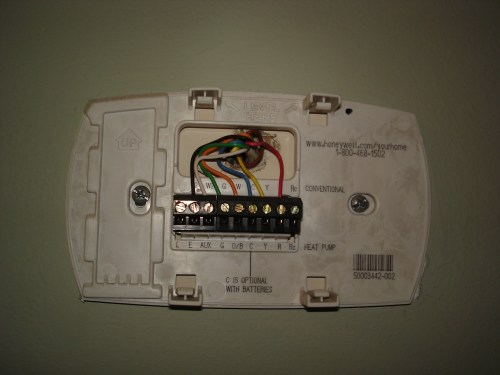 small resolution of  thermostat base saving some green part 1 honeywell rth2300b wiring diagram at cita asia