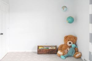 bare bedroom boys wall shared empty boy rooms space decorating challenge reveal bit plans truth makeover