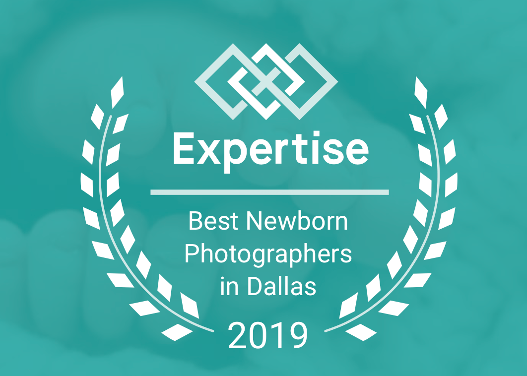 Named Best Newborn Photographer in Dallas 2016-2019
