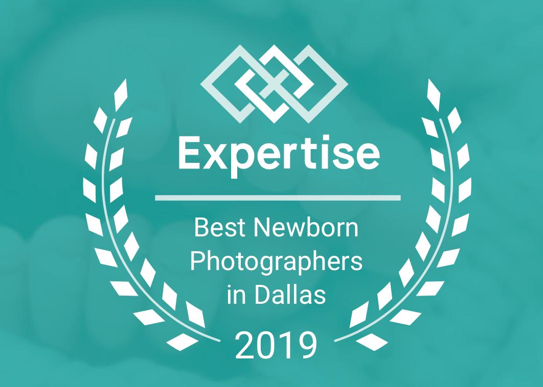 Named Best Newborn Photographer in Dallas 2016-2019