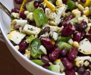 Easy & Delicious Summer Bean Salad