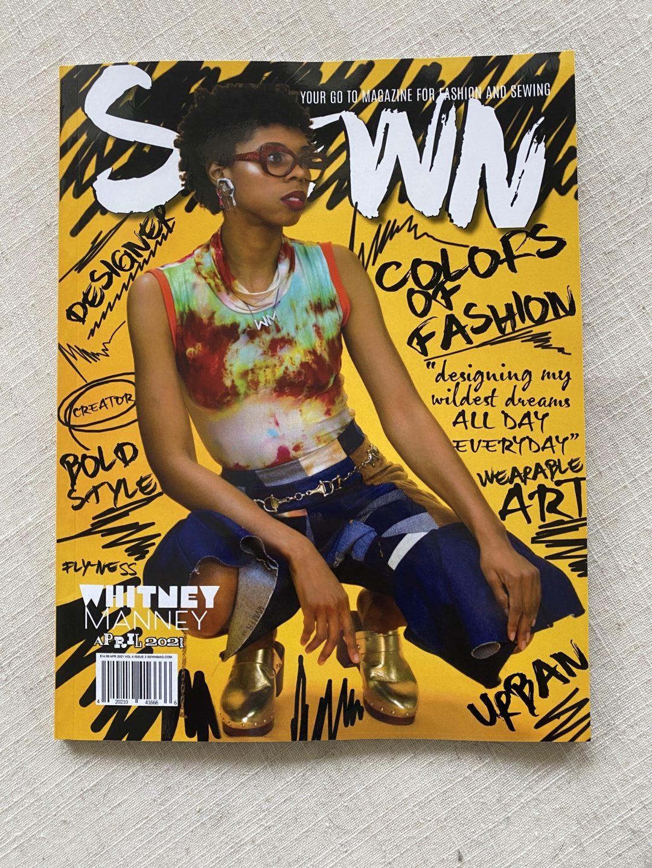 SEWN Magazine April 2021 Issue COver