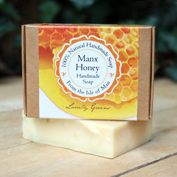natural manx honey soap