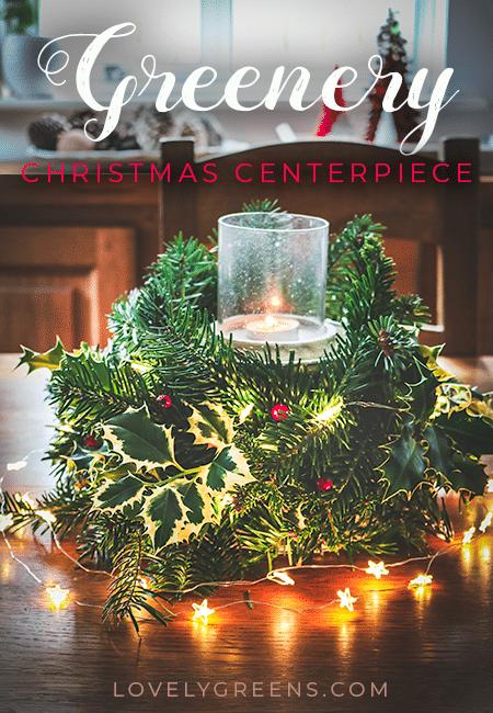 Make A Christmas Centerpiece