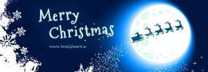 merry christmas facebook cover photo