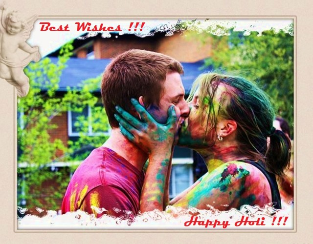 Happy Holi Hot Kiss Images - 16