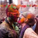 Romantic Holi Wallpaper/HD Holi Gf/BF Pics/Holi Romantic Couples Picture