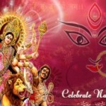 Happy Chaitra Navratri 2015 Wishes/Images Beautiful Maa Durga HD Wallpaper