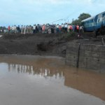 Today's on 05th Aug 2015 Two Train Kamayani & janta Express Accident in Harda MP Latest News Images Photo