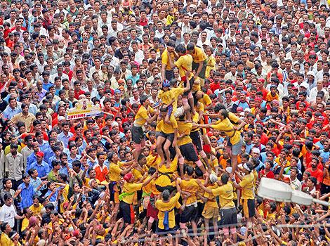 Dahi Handi Festival 2015