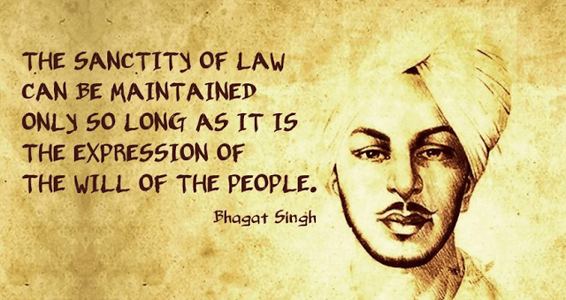 Quote Bhagat Singh Birthday Special