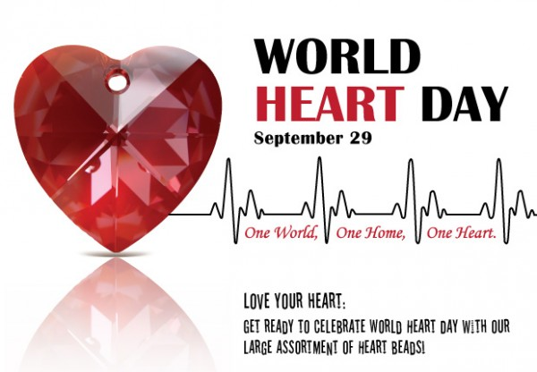 Happy World Heart day 2015 HD Wallpaper 29th Sep Images | www.lovelyheart.in