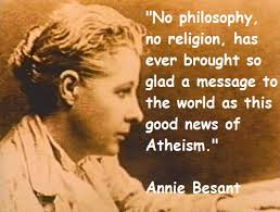 annie besant thoughts