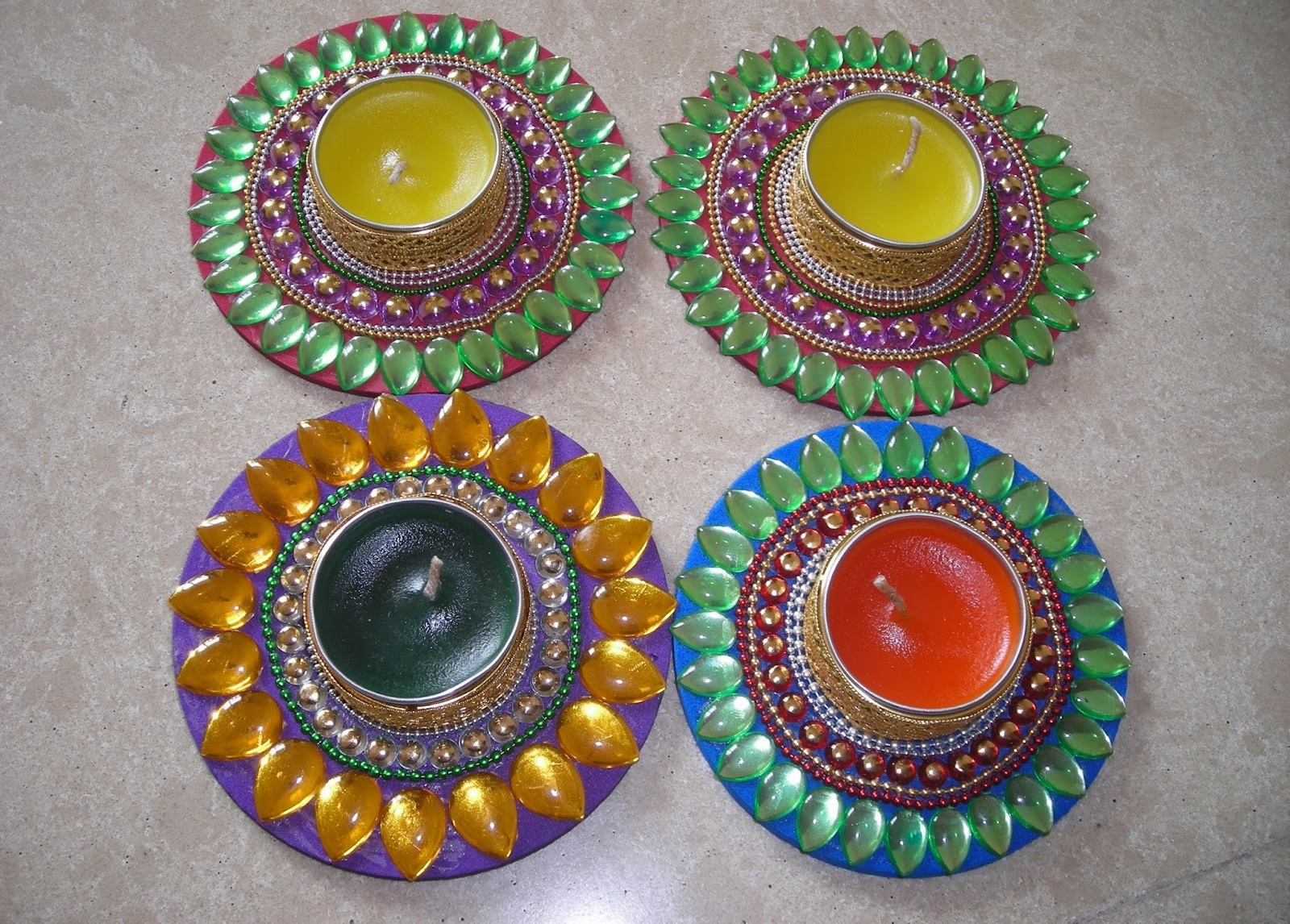 Diya making competition ideas tips latest diya decoration for Simple diwali home decorations