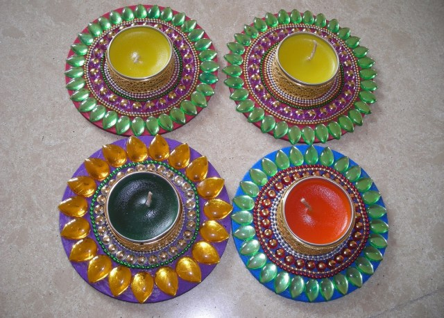 Floating Diya handmade