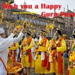 Happy Guru Parv 2015 Wishes in Punjabi Guru Nanak Dev Birthday HD Wallpaper/Images Messages