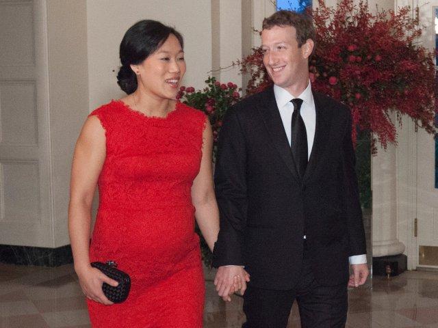 Mark Zuckerberg priscilla Chan Photo