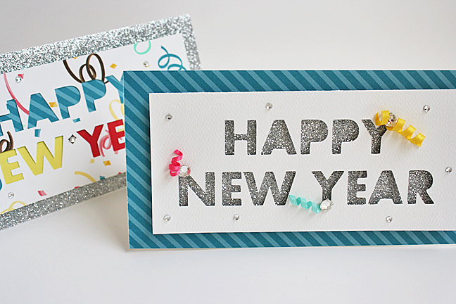 Easy Handmade New Year Cards for Kids Simple Cards kaise ...