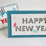 Simple New Year Handmade Cards for Kids Easy New Year Greeting Cards