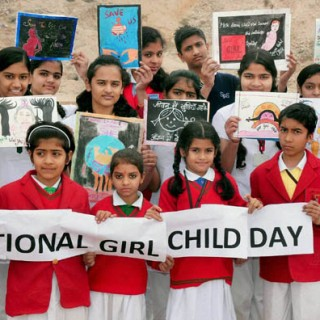 Image result for Image for the National Girl Child Day on 24th January2017.
