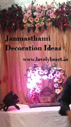 kanha ji palna decoration ideas easy