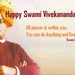 Happy Birthday Swami Vivekananda Latest Images HD National Youth Day Wallpaper 2017