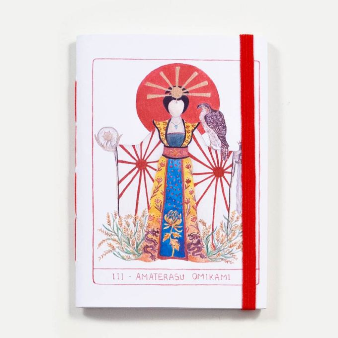 Sketchbook Amaterasu . Dani Fernandes e Karla Ruas