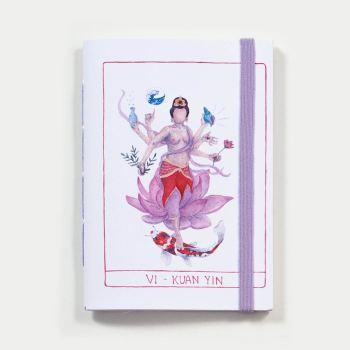 Sketchbook Kuan Yin . Dani Fernandes e Karla Ruas