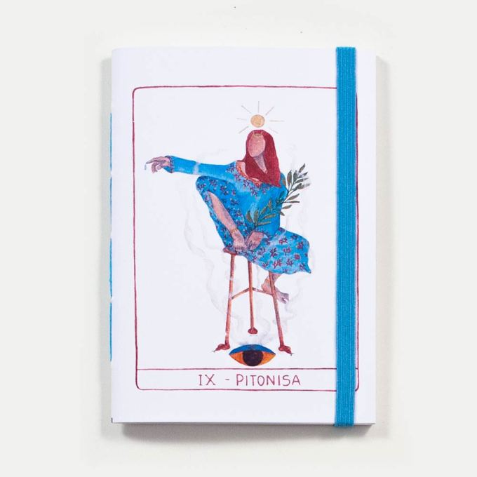 Sketchbook Pitonisa . Dani Fernandes e Karla Ruas
