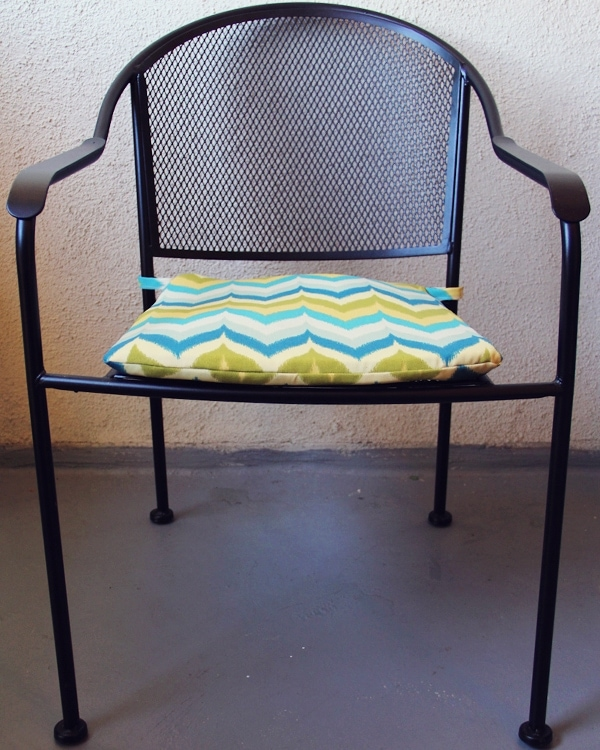 diy patio chair cushions  Lovely Indeed