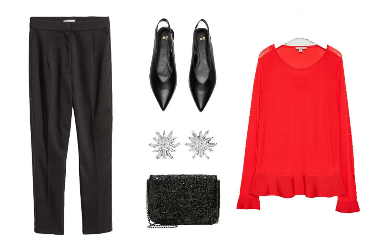 Pop of Color: red