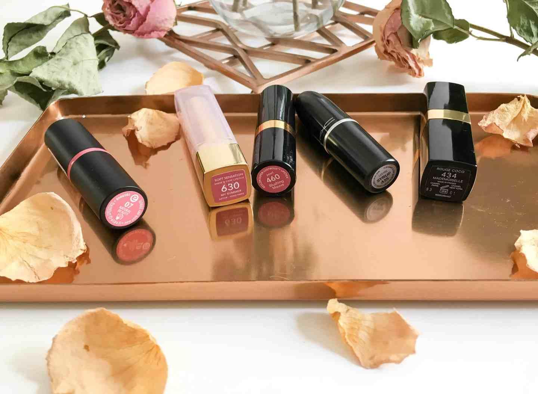 Lippenstifte in Rosé Farben