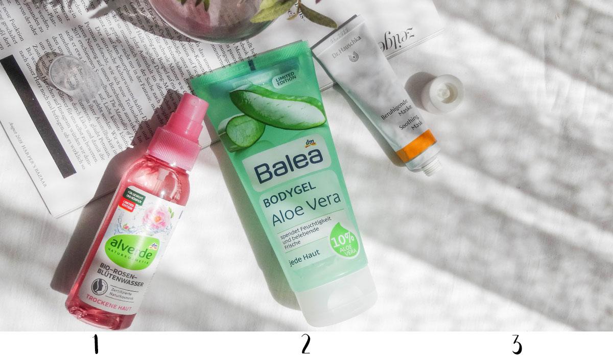 Sommer Hautpflege