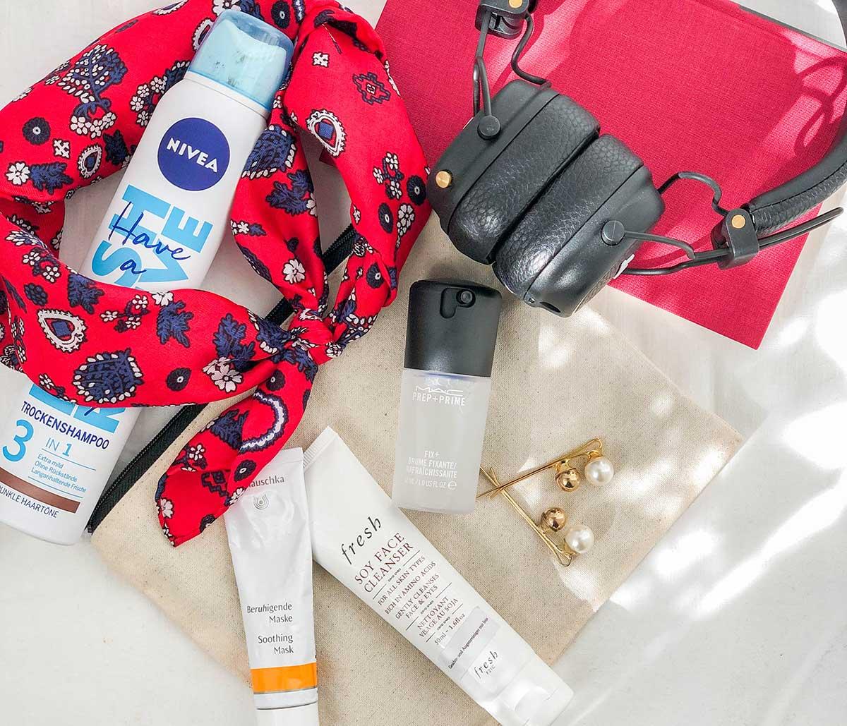 Packliste Hautpflege
