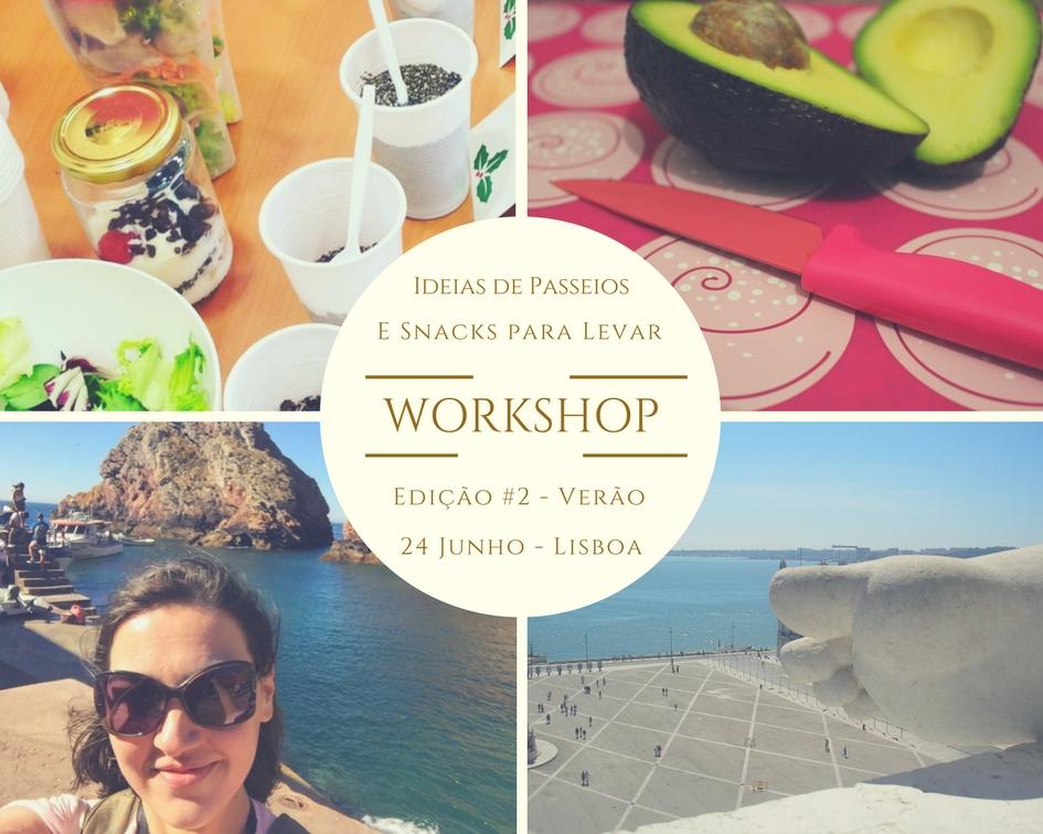 Edição #2 - Workshop Ideias de Passeios e Snacks para levar