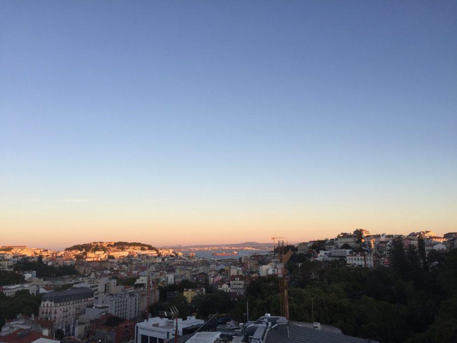 Vista do Rooftop Level Eight