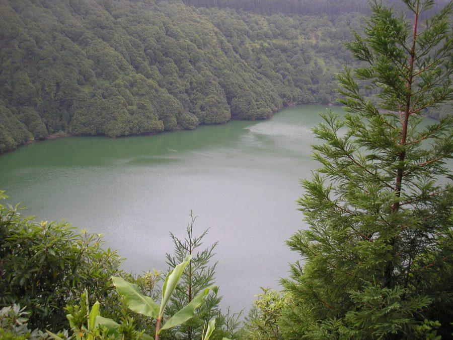 paisagem ilha de são miguel açores portugal