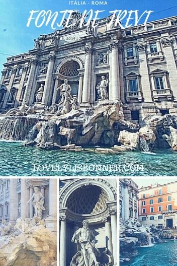 Fonte de Trevi - Roma - Itália