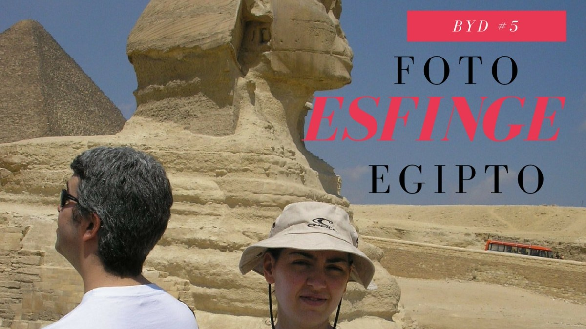 Foto com a Esfinge (Egipto) - Before You Die #5