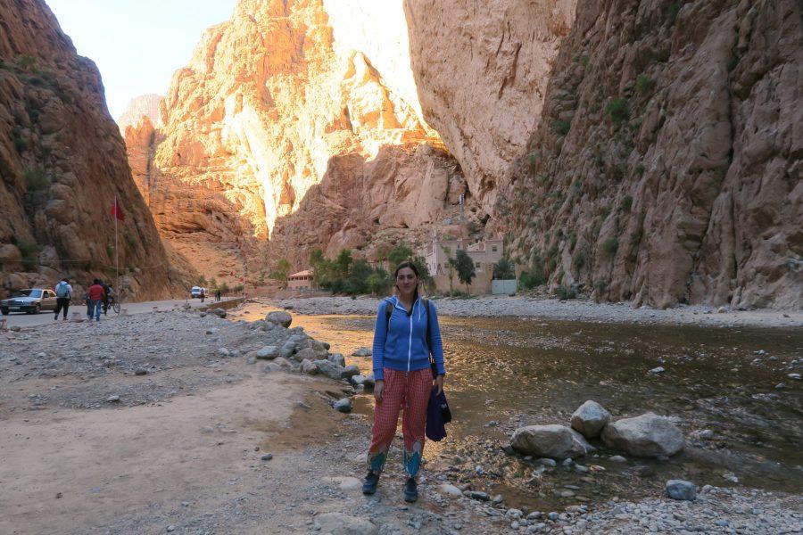 Gargantas do Todra - Gorges do Todra - Desfiladeiros em Marrocos