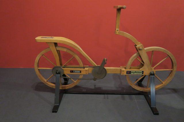 bicicleta invenção leonardo da vinci