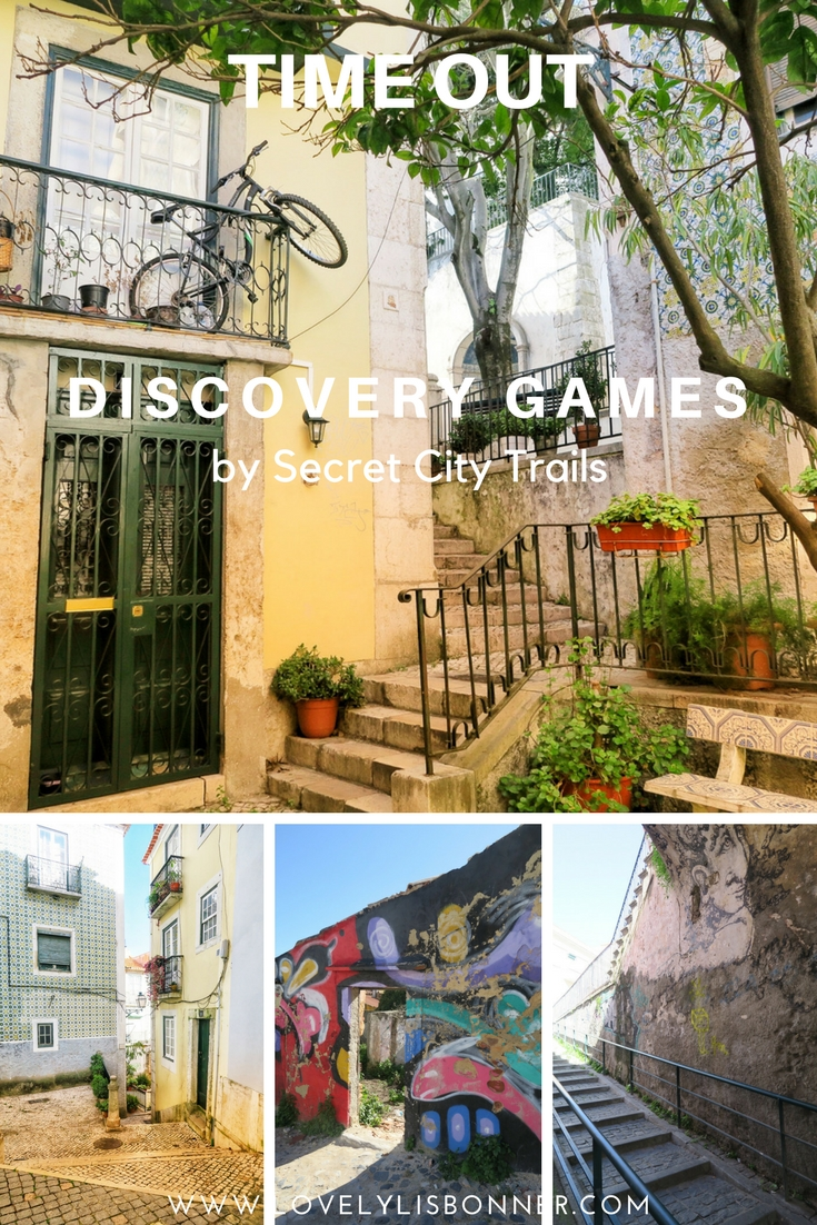 Time Out Discovery Games by secret city trails