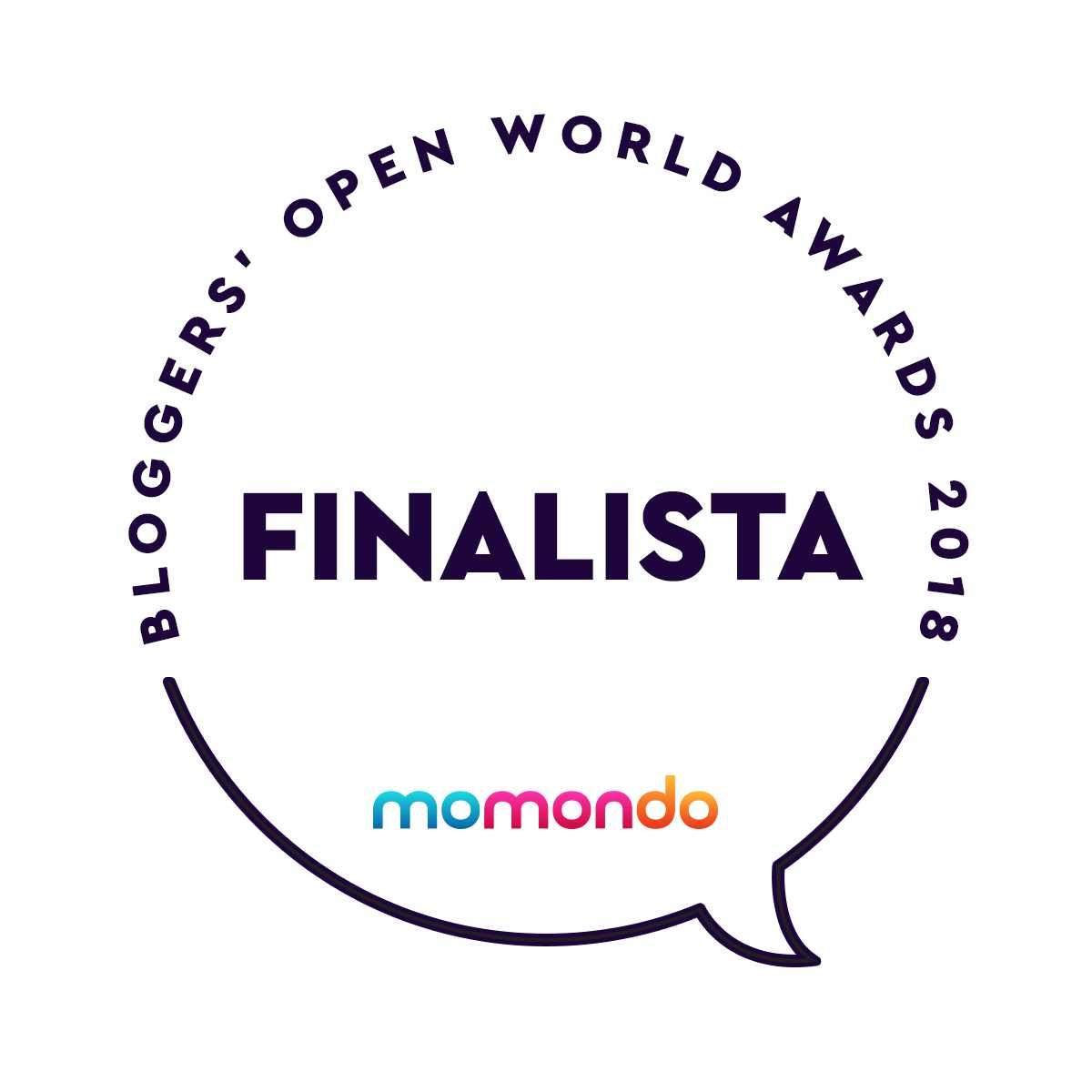 Bloggers Open World Awards 2018 Finalista