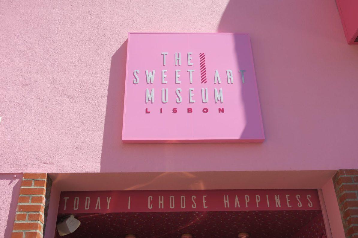 The Sweet Art Museum Lisbon Lisboa say yes to happiness